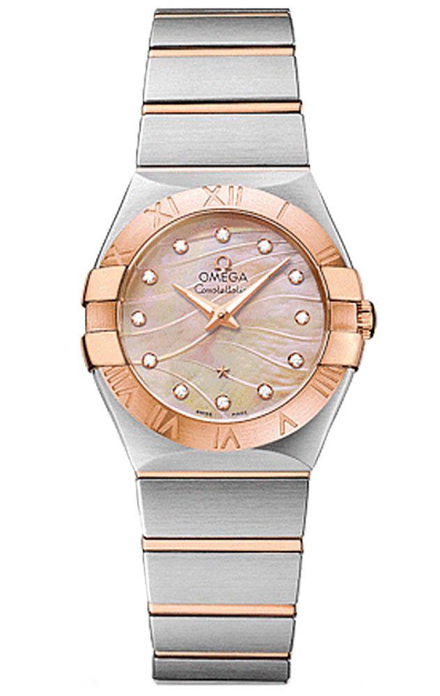 Reloj Omega mujer Constellation Quartz O12330376057002