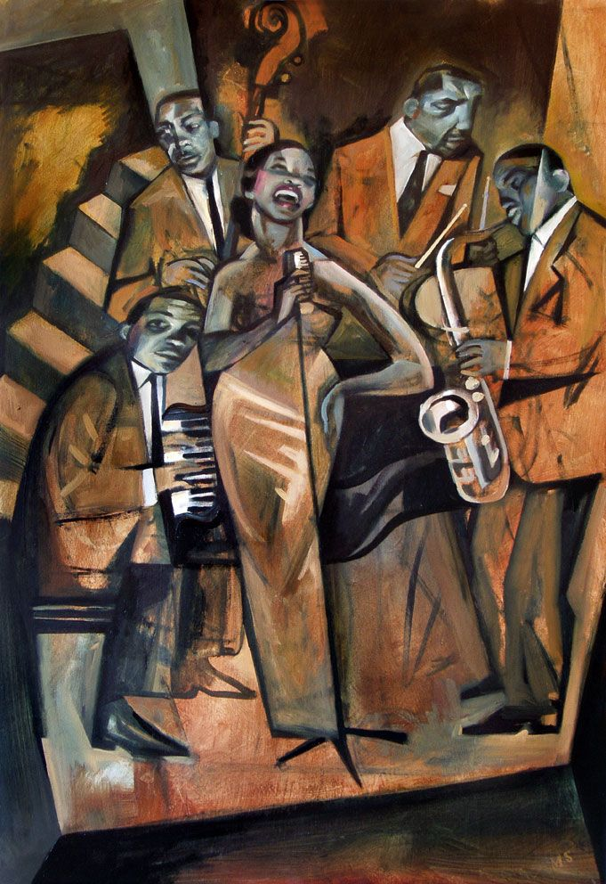 – Inspired by the great jazz singers & smoky jazz clubs. Format: Limited edition Giclee printed on 310 gsm PH neutral fine art archival paper. Single mounted  The prints are signed & come with a certificate of authenticity. Print size: 46cm x 31cm Mounted size: 58 x 43cm