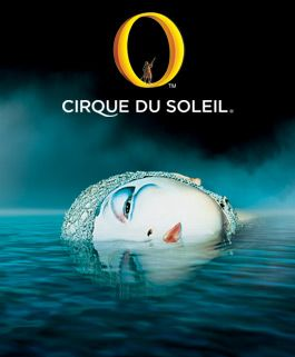 French Canadian whimsy. A currency in Vegas.  Cirque du Soleil: O at Bellagio, Las Vegas