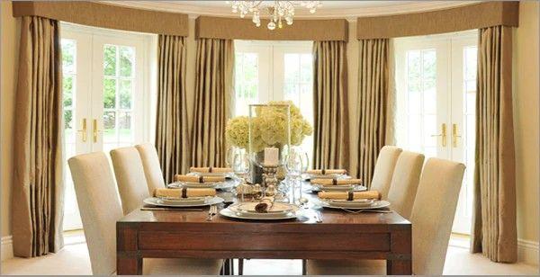 Large Window Drapery Dining Room Furniture Sets Dining Room Curtains Luxury Dining Room