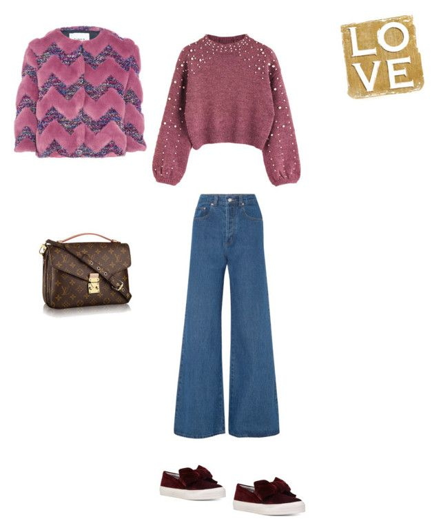 """Love"" by francystyling78 on Polyvore featuring moda, Solace, Nine West e AINEA"