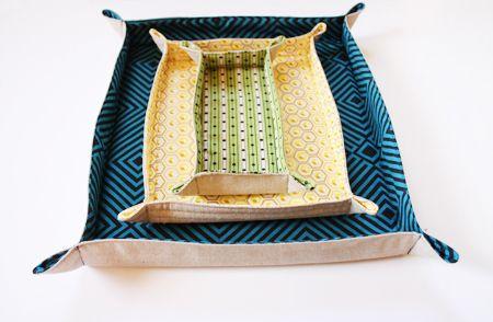 Fabric Trays   Skip To My Lou