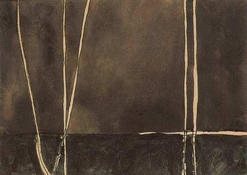 Osvaldo Licini, Fili astratti, 1934