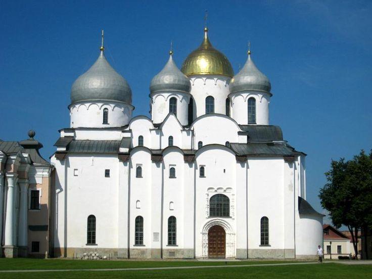 Софийский собор 1045-1050гг. Домонгольский период. Великий Новгород.