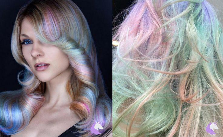 Want subtle unicorn hair? Opal Hair is the trend for you! | Emi Unicorn http://emiunicorn.com/subtle-unicorn-hair-opal-hair-trend/