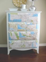 I love this idea, plus I have lots of maps!