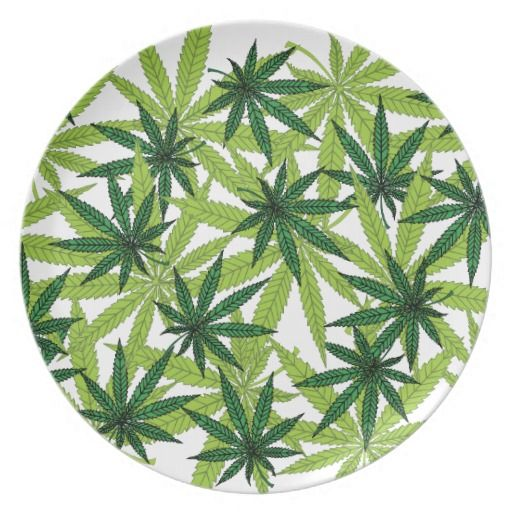 Marijuana Leaves Plate - $29.95 - Marijuana Leaves Plate - by RGebbiePhoto @ zazzle - #cannabis #marijuana #medical - Nine point Marijuana leaves. Cannabis is recognized legally in several US states, mostly for medical purposes, but some are recognizing recreational use as well.