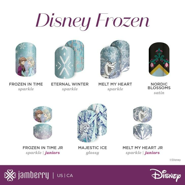 Mommy and Me Jamicure Day!! Every little girl needs a matching frozen Jamicure date with their momma!! AndreaMWentz.jamberry.com