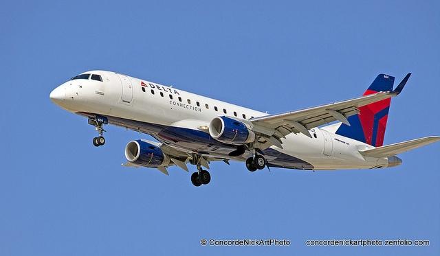 Delta Connection Embraer ERJ-175 by Concorde Nick, via Flickr