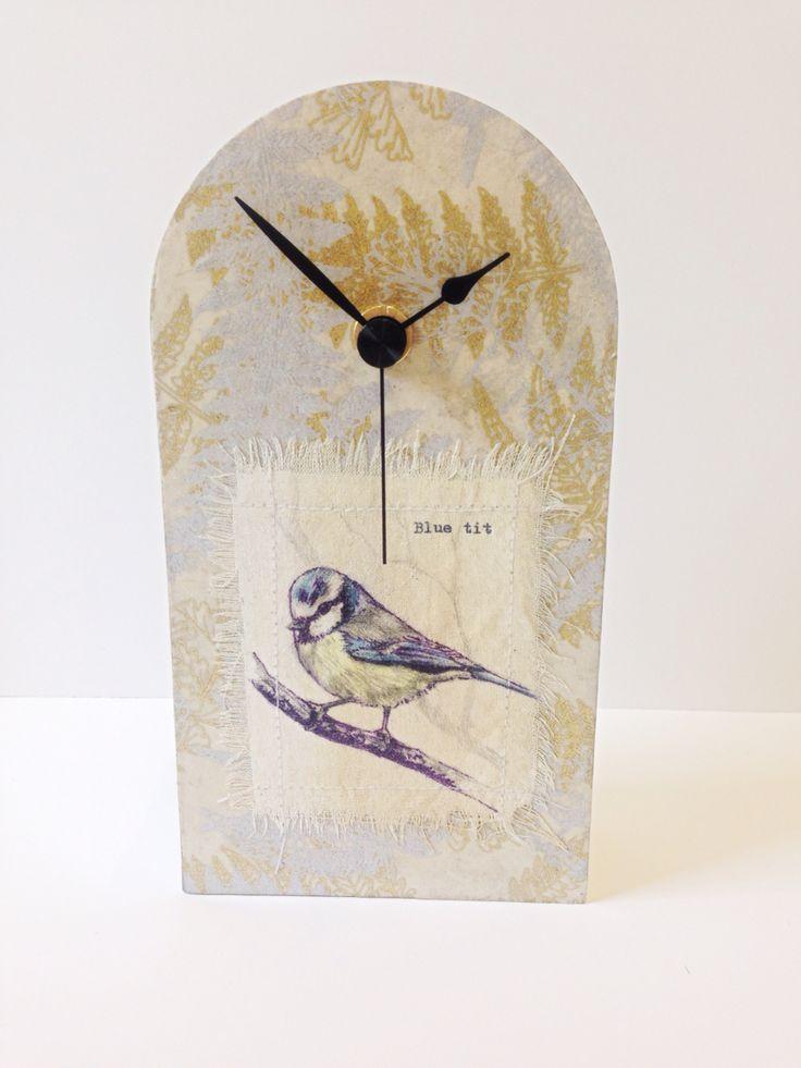 #clock#bluetit#Bird#gift