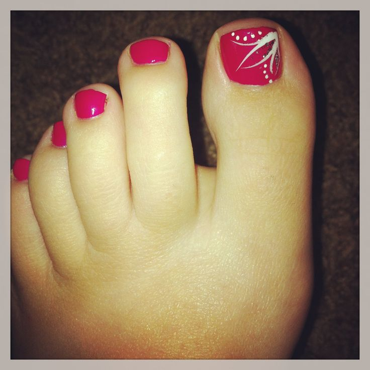 1000 ideas about easy toenail designs on pinterest toe - Simple nail polish designs at home ...