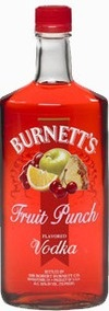Burnett's Fruit Punch Vodka, when you need some flavor!