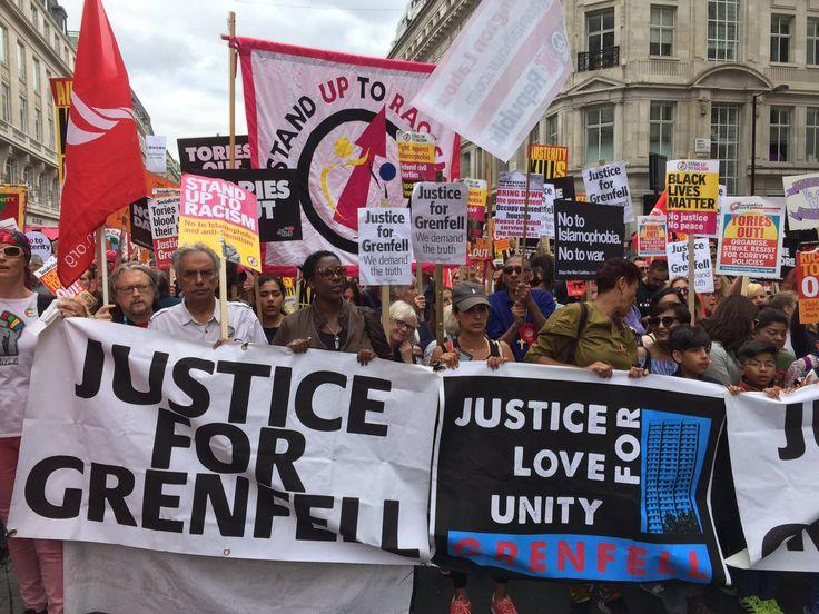 #NotOneDareMore protest in London July 1st, 2017 #ToriesMustGo #JC4PM