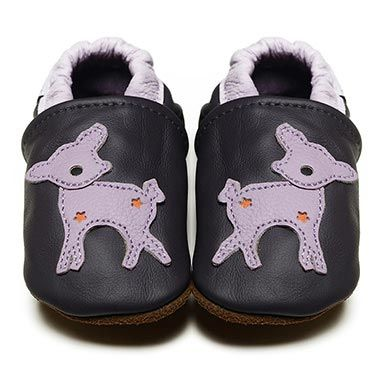 Bambi - Soft Sole Baby Shoes | RECOMMENDED by podiatrists as the best first shoe choice I Fox & Frog