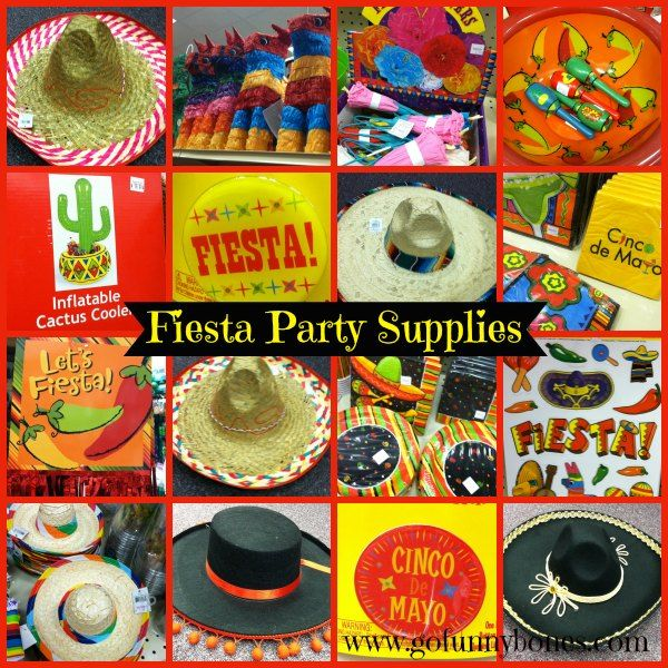 Everything you need for your fiesta is at Funny Bones Party Superstore - https://www.facebook.com/FunnybonesPartySuperstore http://gofunnybones.com/