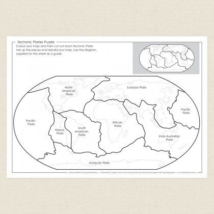 plate tectonics coloring pages - 57 best free printable colouring in pages for kids images