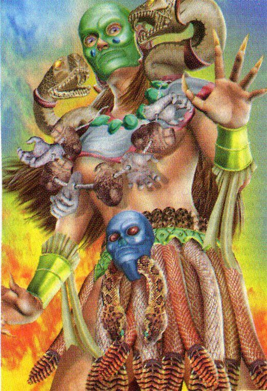 Coatlicue, Diosa Madre de los Aztecas