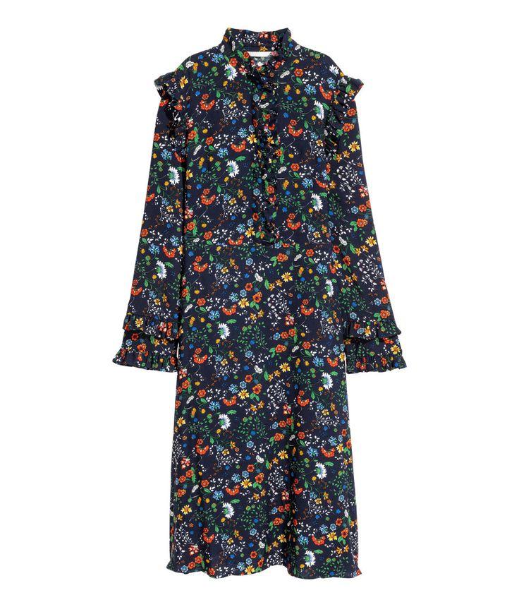 H&M Floral Midi-Dress