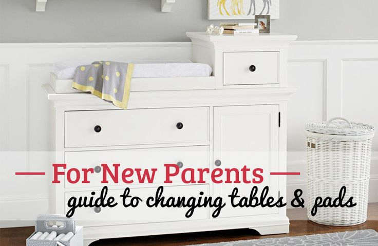 A diaper changing table or pad can make all of those diaper changes much easier. See our choices for the best changing table and pad!