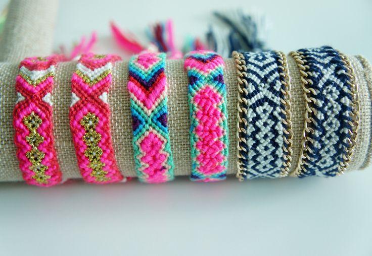 - Woven Friendship Bracelet