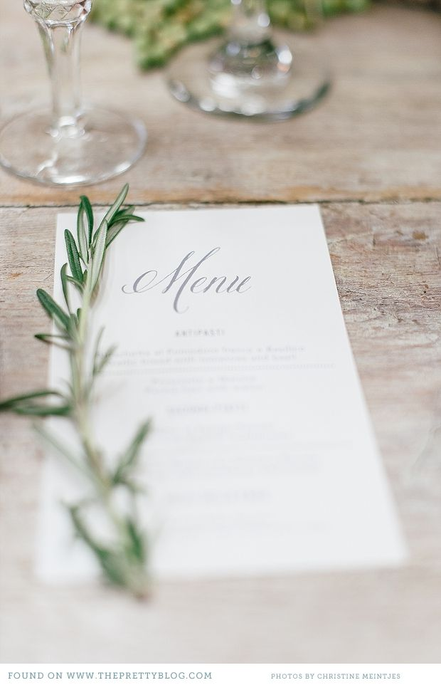 Italian Inspired Wedding Ideas. Tuscan WeddingRomantic Wedding DecorWedding  DecorationSimple Wedding MenuWedding Table ...