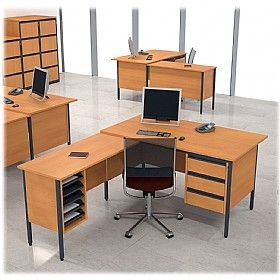 NEXT DAY Nova Contract L-Shaped #OfficeDesks are provided with 2 or 3 drawer fixed pedestals which can be fixed to the left or right of the desk.  To order and in specific measurements visit - @Office Desks - http://www.office-desks.co.uk/next-day-nova-contract-l-shaped-desks.html