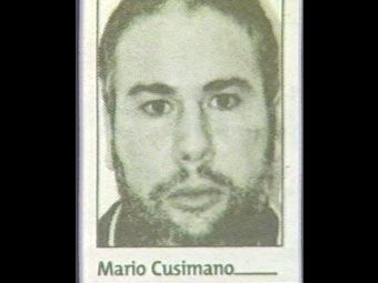 """Mario Cusimano (1961) Soldato famille de Villabate. arrested on 25 January 2005, for many years, he was """"the Postman""""Bernardo Provenzano. passing his notes"""