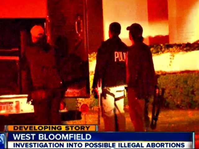 A police raid on the car of a known abortionist with a history of violations has revealed containers of human tissue.