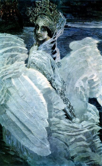 Царевна – Лебедь М.Врубель.