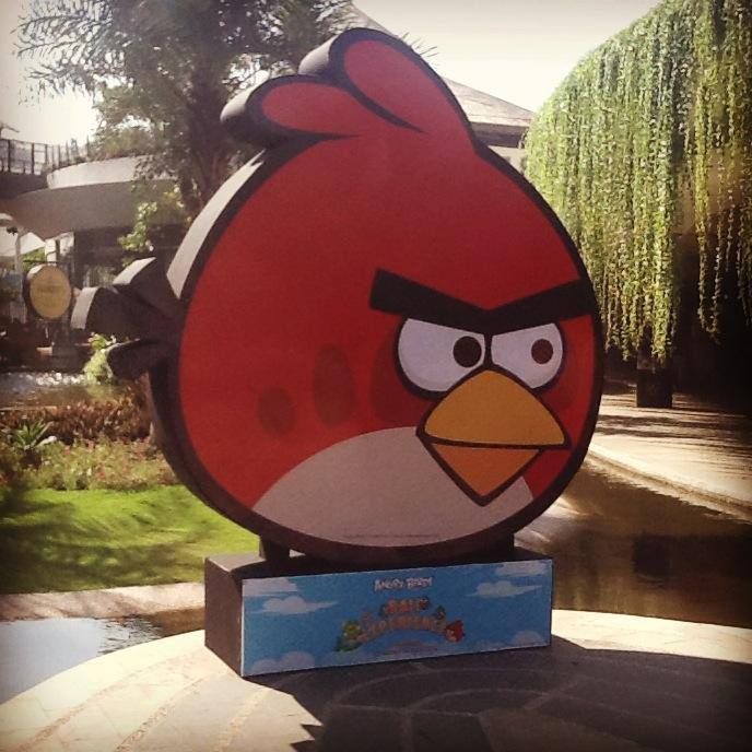Angry Birds Experience! Little Angry bird shop, Angry Bird wall of fame, Angry Bird Games and much more! Don't miss it! From 23 June - 14 July 2013 at Center Stage, Beachwalk, Jalan pantai Kuta, Bali www.travelling-bali.com