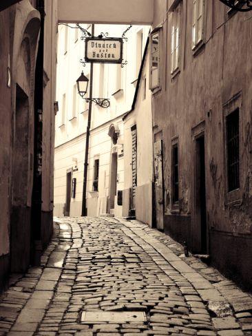 Slovakia, Bratislava, Old Town Premium Photographic Print by Michele Falzone at Art.com