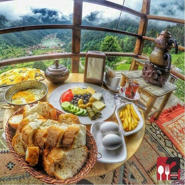 Kahvaltı - Uzungöl / Trabzon