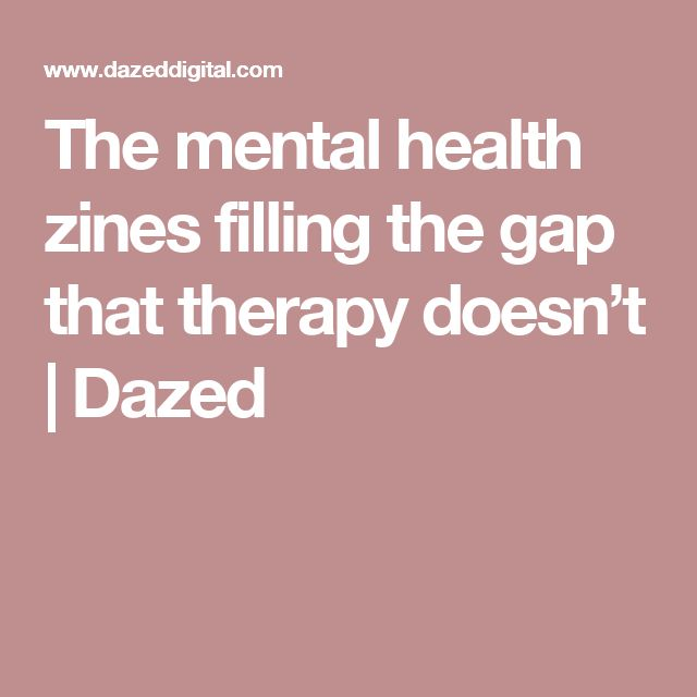 The mental health zines filling the gap that therapy doesn't | Dazed