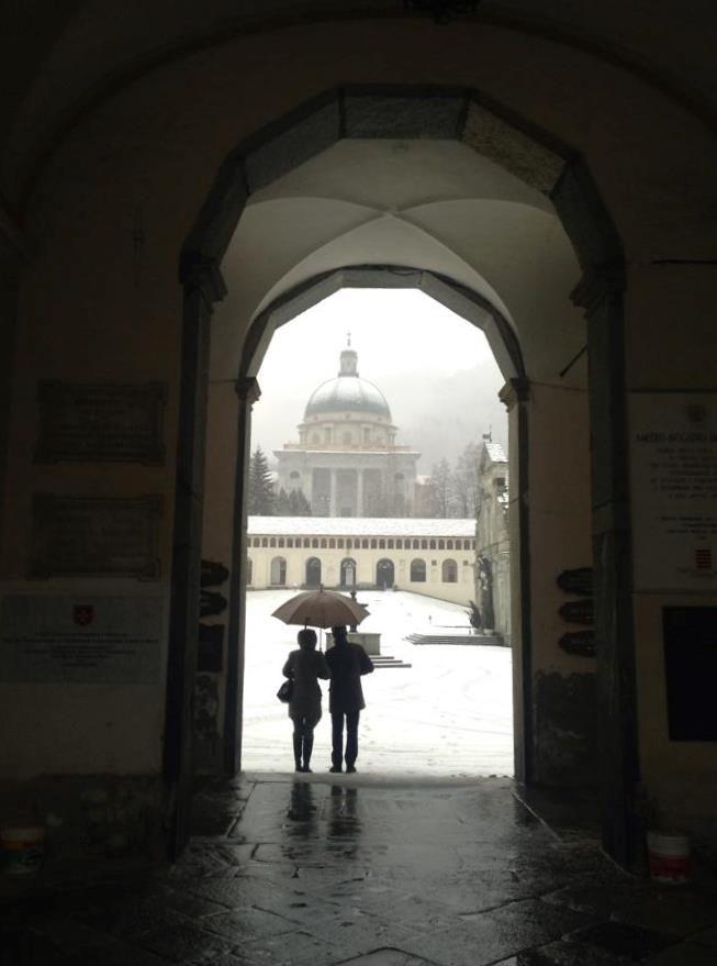 #Oropa #church #MadonnaNera #neve #snow #santuario #inverno #winter #montagna #Alpi