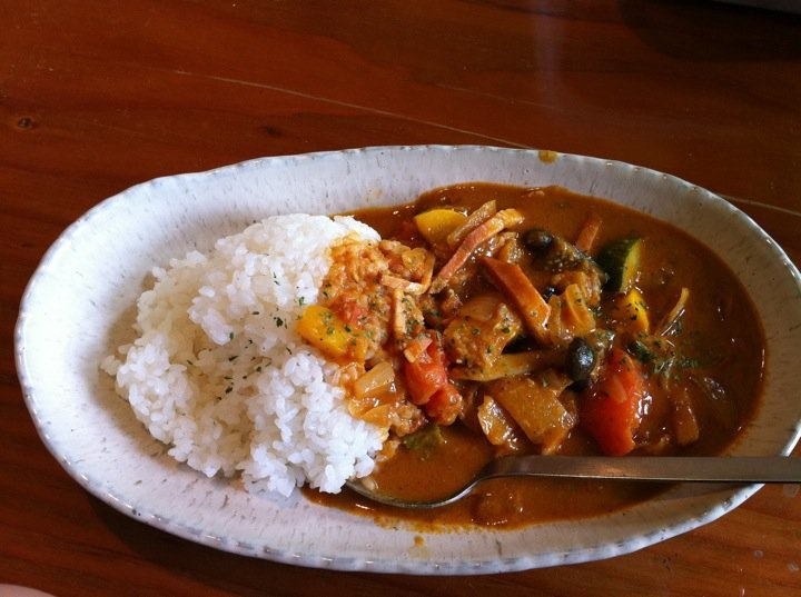 大原屋カレー Curry