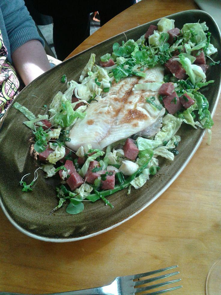 Delicious Plaice as a main course at The Star Inn The City #york #finedining