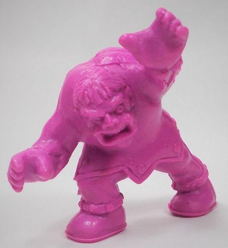 Monster in my Pocket - Series 1 - 48 Hunchback - Neon Purple NP MEG MIMP