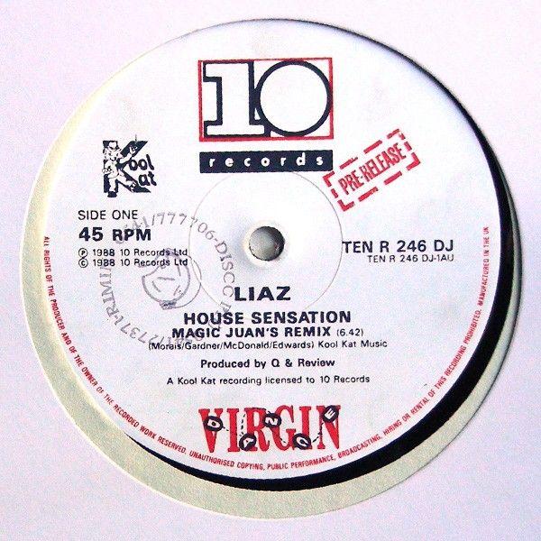 Lato A: House Sensation (Magic Juan's Remix)<br />House Sensation (Kevin 'Master Reese' Saunderson Mix) - (Juan's Magic Wand Mix) ... robxrecords.it