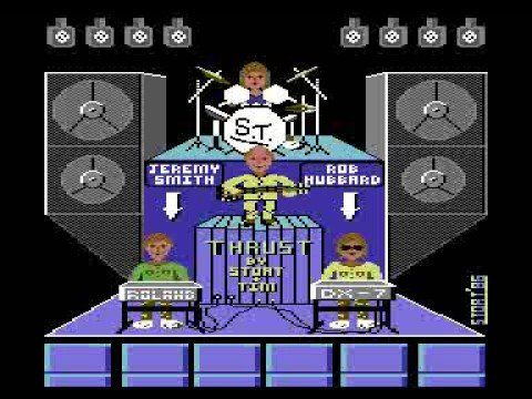Thrust Concert - Commodore 64