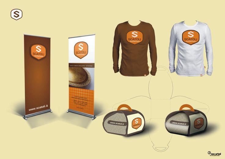 Scatoli Int. branding. neoarted