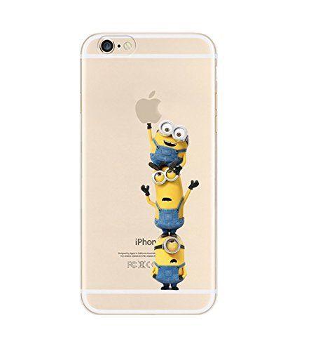 iPhone6 iPhone6s ケース カバー TPU 薄くて軽い厚さ0.6mmのソフトケース iPhone6s / iPhone6 対応 怪盗グルーのミニオン 危機一発ミニ Minion (iPhone6s / iPhone6 4.7インチ)