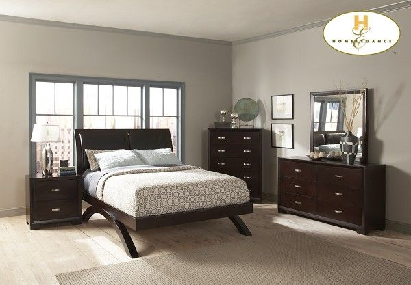 56 Best Images About Homelegance Bedroom Sets On Sale On Pinterest Leather Headboard Padded