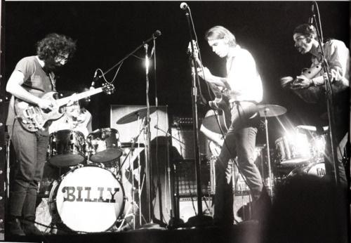 Jerry Garcia, Bill Kreutzmann, Bob Weir, and Mickey Hart of the Grateful Dead.
