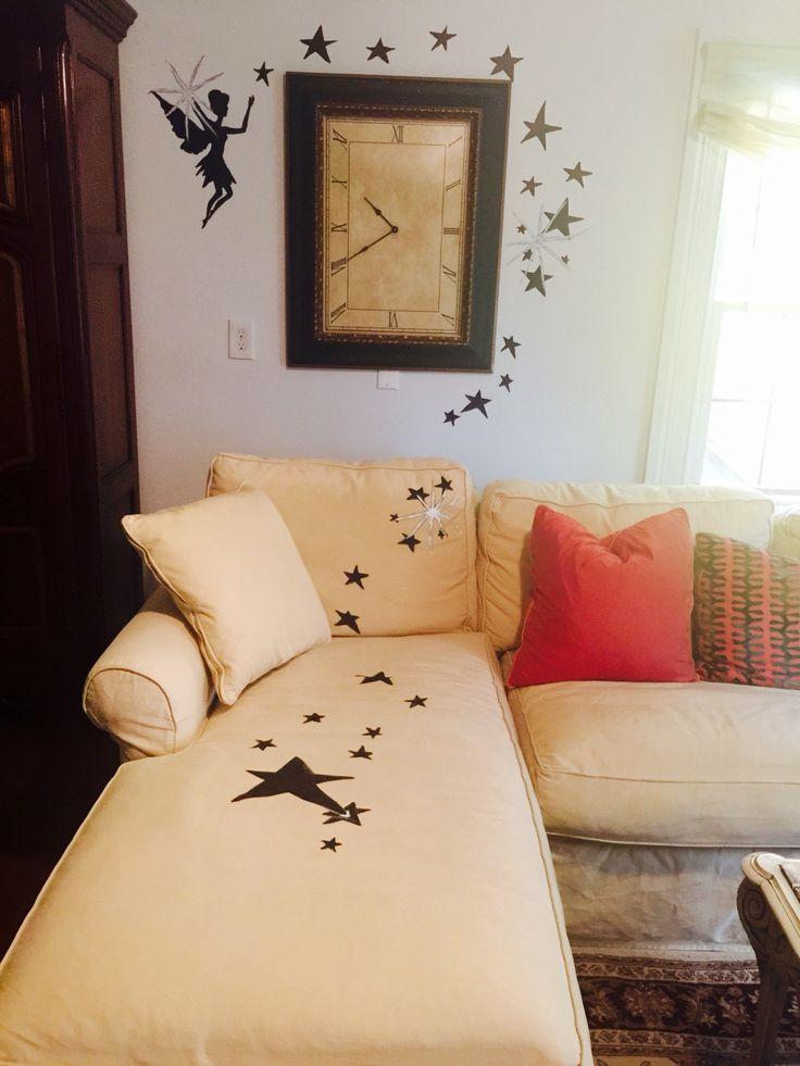 muro e divano pitturato con colori acrilici  Idee per la casa ...