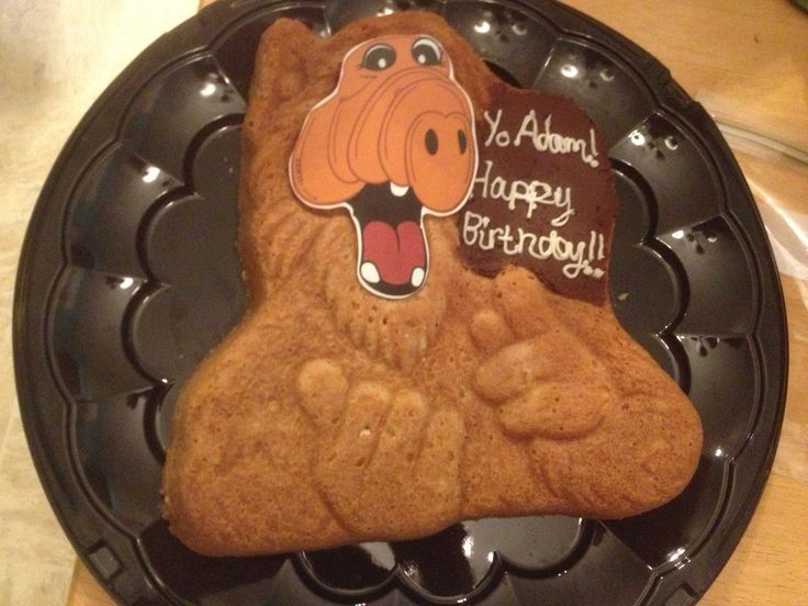 my alf birthday cake alf pinterest. Black Bedroom Furniture Sets. Home Design Ideas