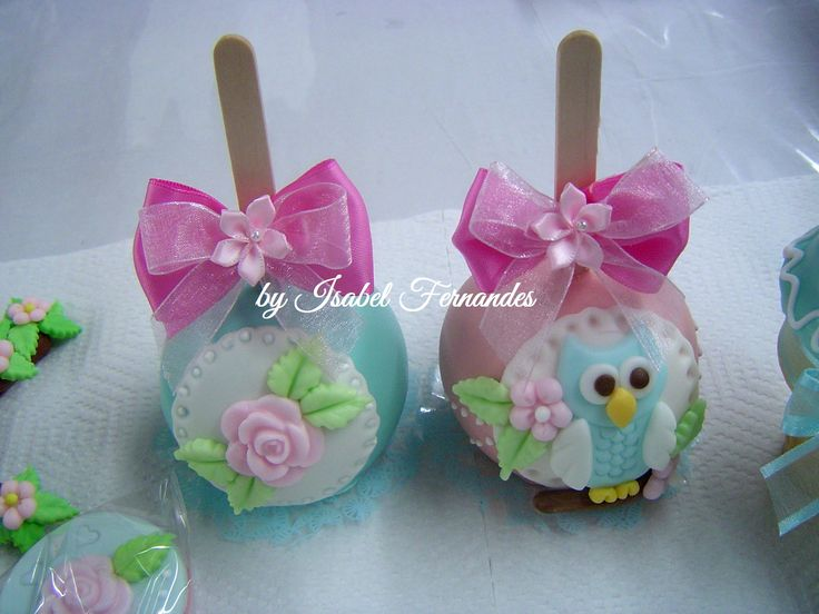 Owl candy Apple