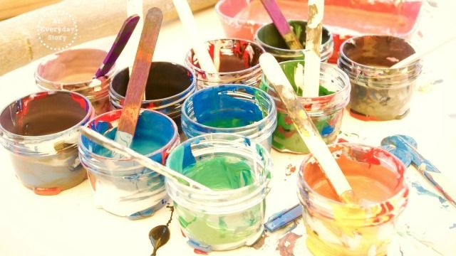 Exploring Reggio - Art and Painting Explorations An Everyday Story