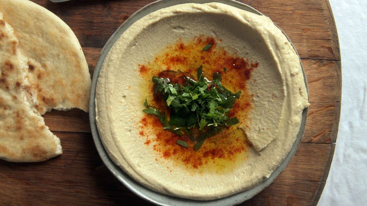 I must share this amazing recipe...Hummus Tehina on Panna by Chef Michael Solomonov! So delicious!
