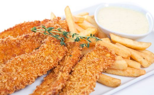 Epicure's Cornmeal-crusted Chicken Strips