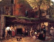 Negro Life in the South  by Eastman Johnson